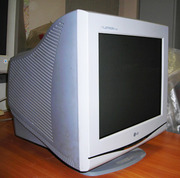 Продам монитор ЭЛТ LG Flatron F700B 17 дюймов